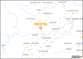 map of Macatal