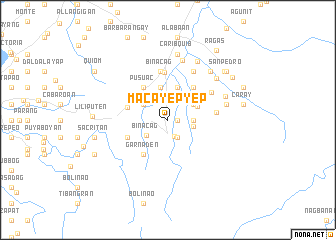 map of Macayepyep
