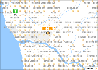 map of Maceda