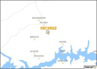 map of Machado