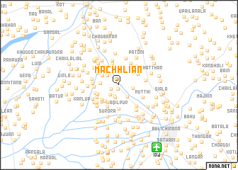 map of Machhliān