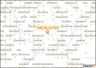 map of Machleiten
