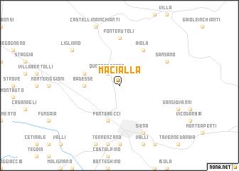 map of Macialla