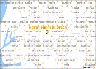 map of Macieira de Loureiro