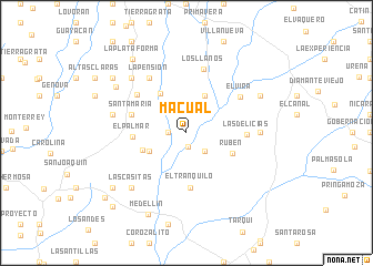 map of Macual