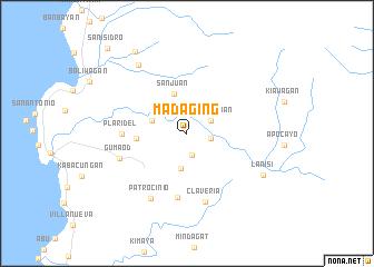 map of Madaging
