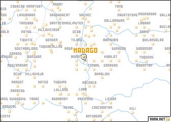 map of Madago