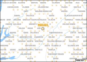 map of Madail