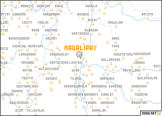 map of Madalipay