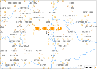 map of Madangdangla