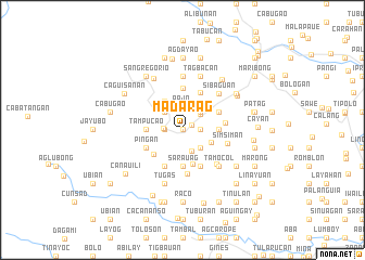map of Madarag