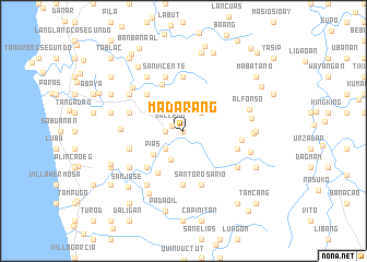map of Madarang