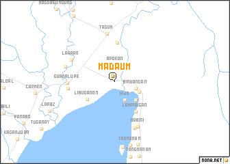map of Madaum
