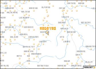map of Madayao