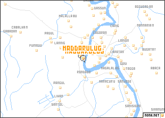 map of Maddarulug