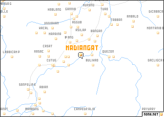 map of Madiangat