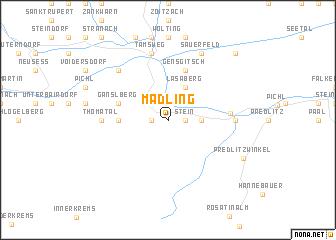 map of Madling