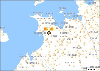 map of Madŏk