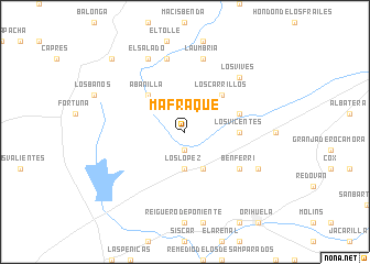 map of Mafraque