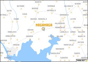 map of Magamaga