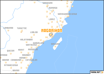 map of Magamihan