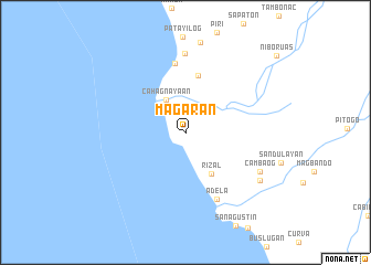 map of Magaran