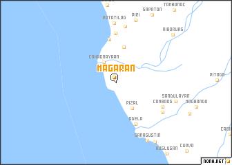 map of Magaran
