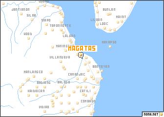 map of Magatas