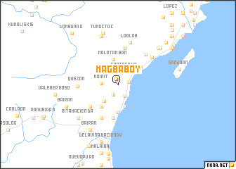 map of Magbaboy