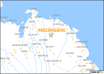 map of Magcamiguing
