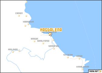 map of Magdalena