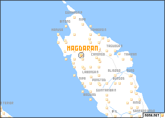 map of Magdaran