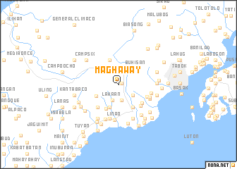 map of Maghaway