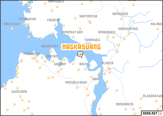 map of Magkasuang