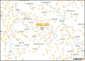 map of Maglovi