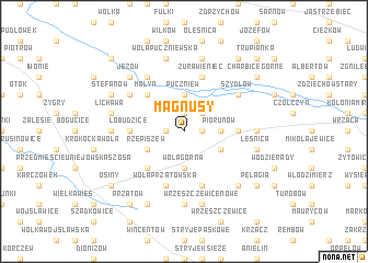 map of Magnusy