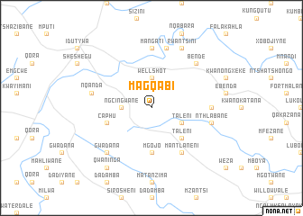 map of Magqabi