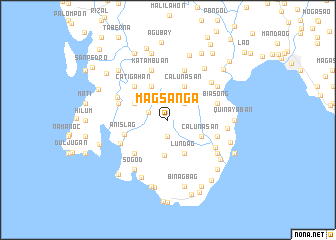 map of Magsanga
