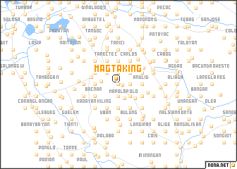 map of Magtaking