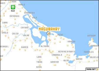 map of Magubahay