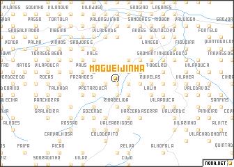 map of Magueijinha