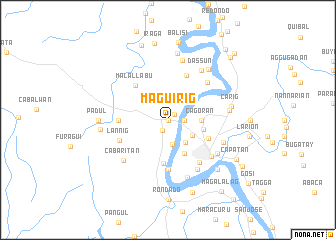 map of Maguirig