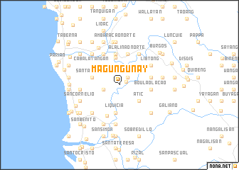 map of Magungunay