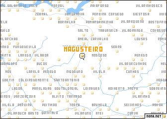 map of Magusteiro