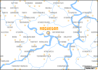 map of Magwedan