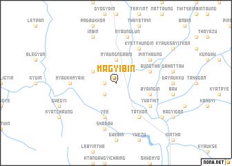 map of Magyibin