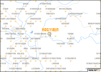 map of Magyibin