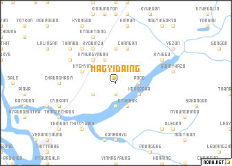map of Magyidaing