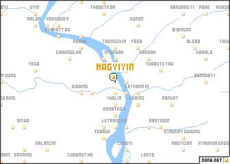 map of Magyiyin