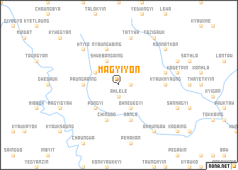 map of Magyiyon